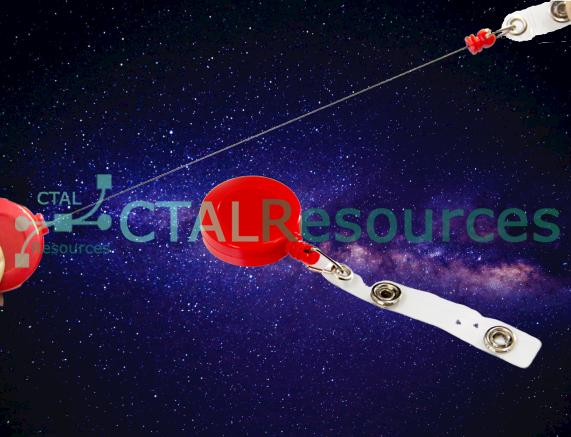 Retractable Clip with String