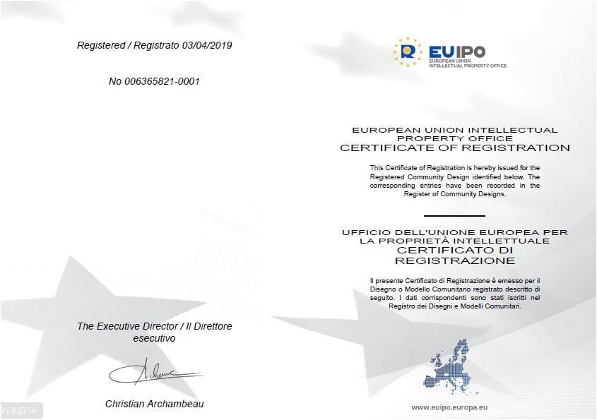 EU Patented